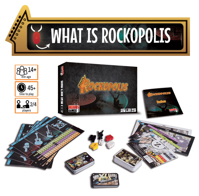 Become a rockstar with the new game Rockopolis - Music to my Eye